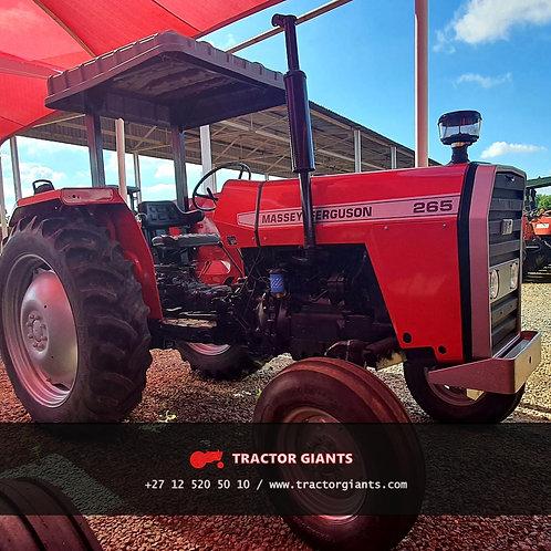 Massey Ferguson 265 tractor for sale (1614)