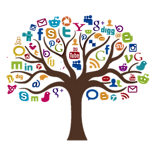 Social media tractor giants tree