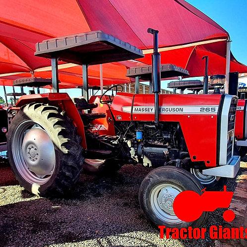 265 Massey Ferguson tractor