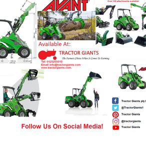 View the new AVANT agricultural range!
