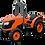 Thumbnail: Kubota M7040 NARROW Tractor