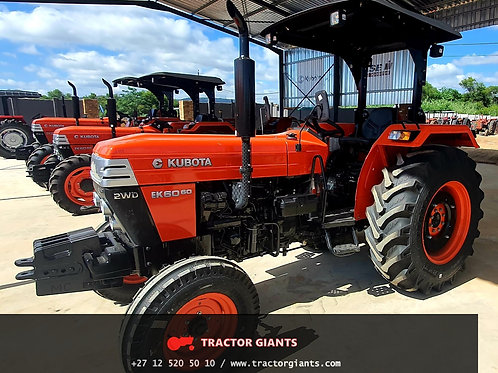 Kubota EK6060 2wd tractor for sale - Tractor Giants