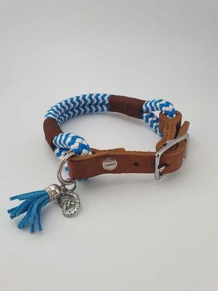 Halsband Bavaria Blue S