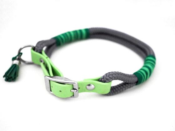 Halsband Tau mit Biothaneadapter