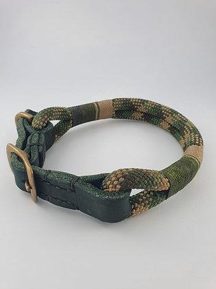 Halsband mit Lederadapter M
