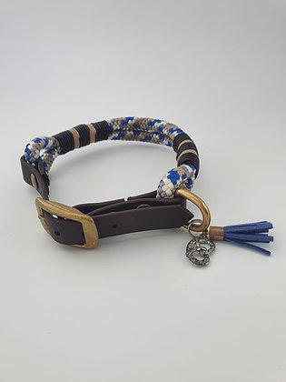 Halsband Lederhosn Blues M