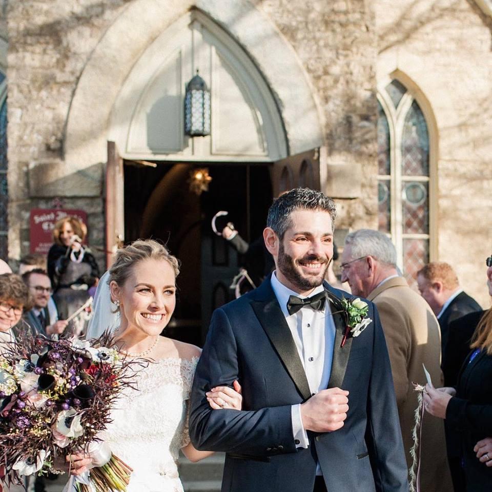 Congratulations Amyanne & Rich