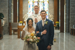 Congrats to the newlyweds!