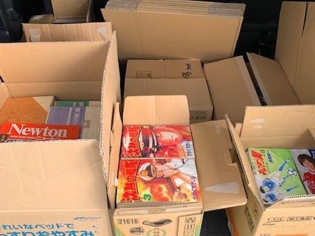 豊橋市で古本漫画コミックとフィギュアの出張買取です。
