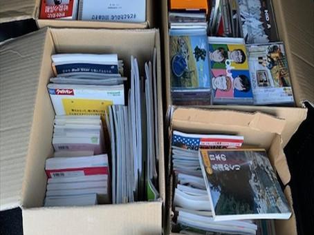 愛知県犬山市で本とCDの買取です。
