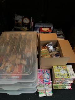 刈谷市で漫画とプラモデルとおもちゃの買取です。