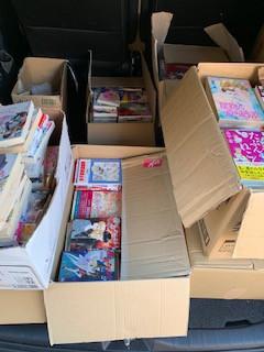 阿久比町で漫画コミックと文庫の買取です。