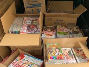 愛知県春日井市で漫画と本の出張買取です。