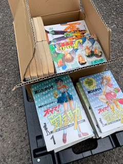 一宮市での漫画コミックの買取です。