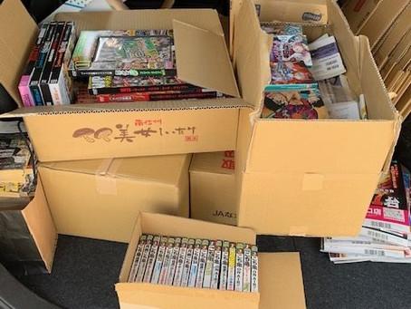 愛知県大府市と名古屋市守山区で本とゲームとフィギュアの出張買取です。