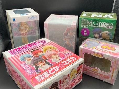愛知県名古屋市と春日井市でフィギュアとアニメグッズと漫画の出張買取です。