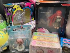 愛知県名古屋市千種区でキャラグッズと漫画の買取です。