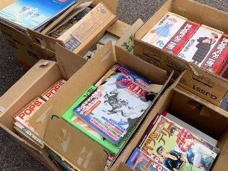 瀬戸市で漫画コミックとゲームの出張買取です。