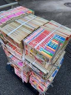 阿久比町で漫画コミックの買取です。