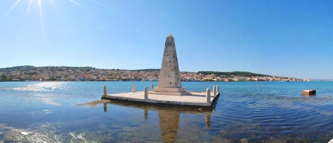 Obelisk at Argostoli