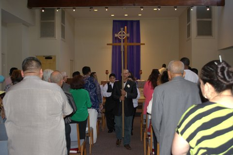 3-14-15  Procession after Ordination