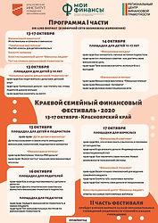 Программа фестиваля по финансовой грамот
