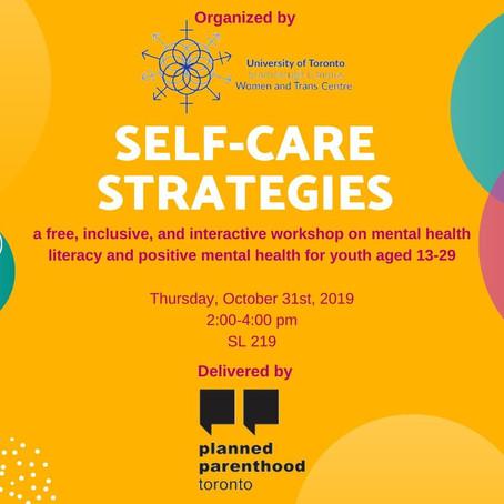 WTC x PPT - Self Care Strategies & Sexual Health