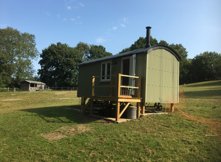 An Amazing Shepherd's Hut Kit Build in East Sussex