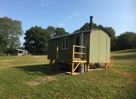 An Amazing Shepherd's Hut Kit Build in East Sussex