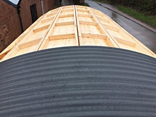 Shepherd's Hut Kit Roof