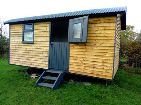 A Bespoke Shepherds Hut