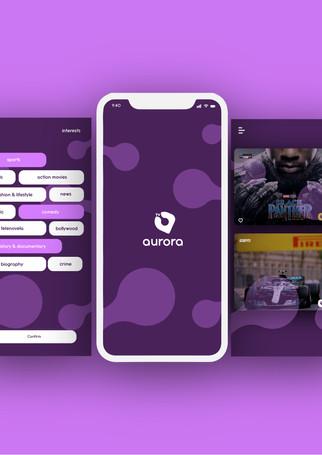 Aurora Mobile TV App
