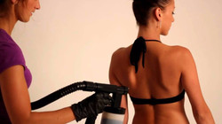 Airbrush Tanning by Hand