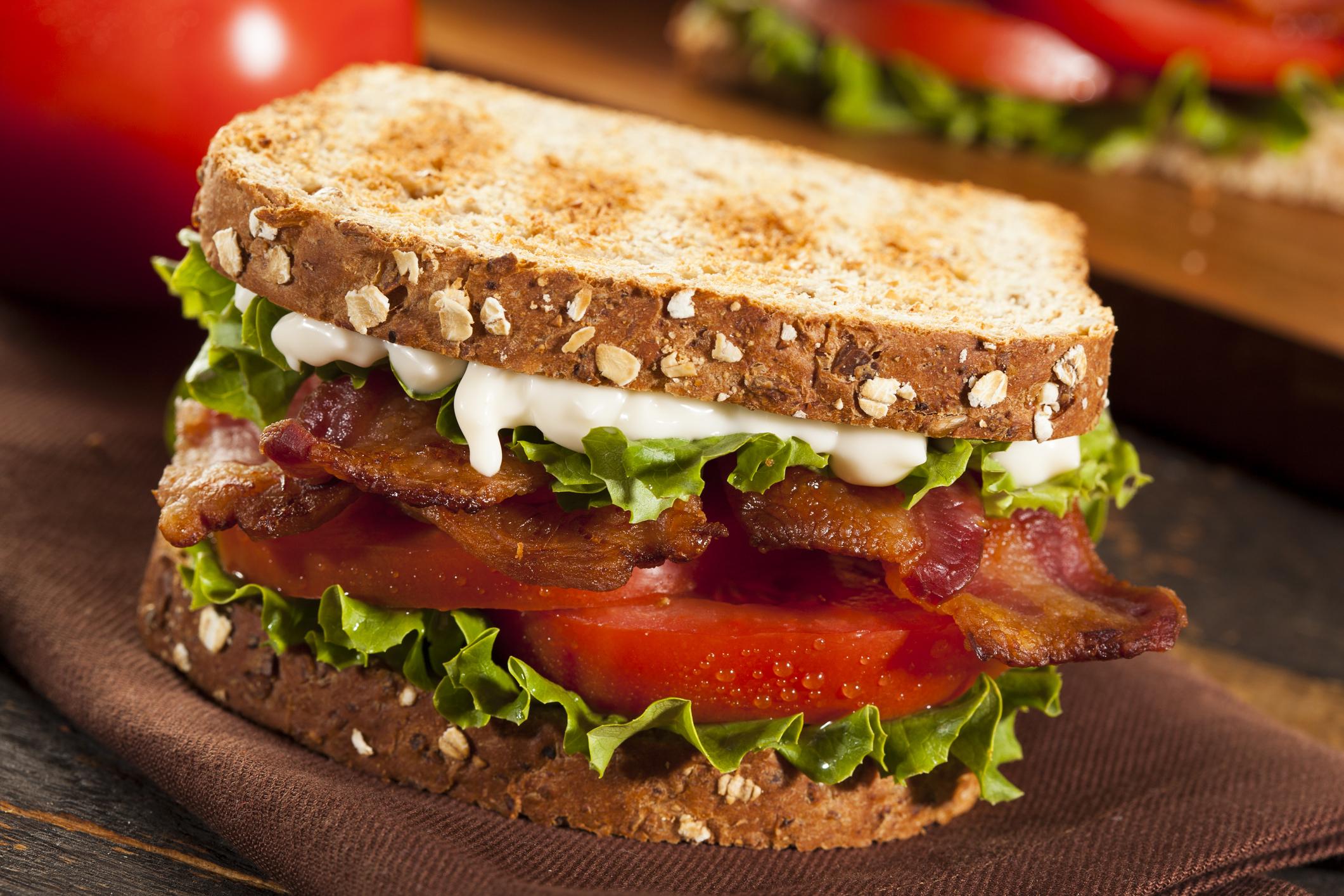 Classic Bacon, Lettuce & Tomato