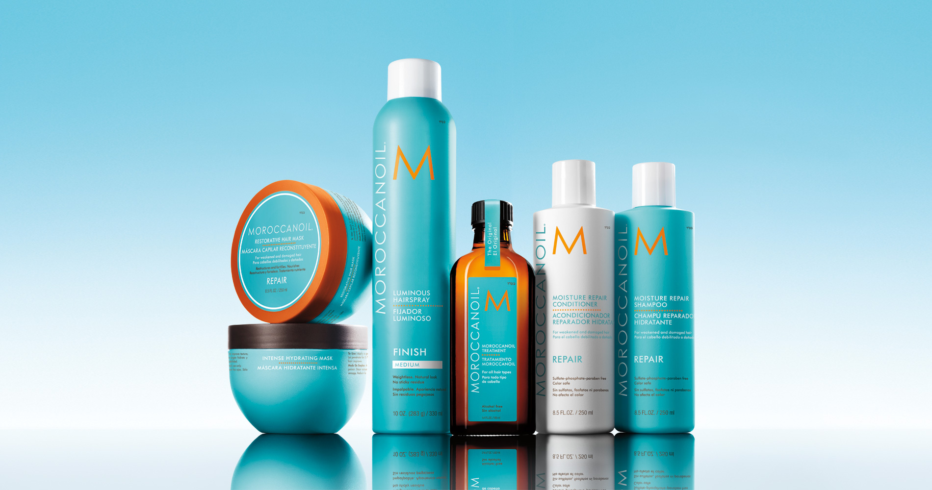 Moroccan Oil Salon