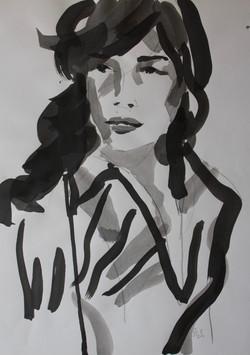 Nadja Solovieva, Study of a Woman
