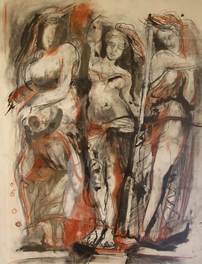 Mary Liddel, The Three Graces
