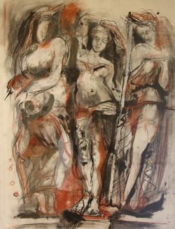 Mary Liddel, The Three Graces