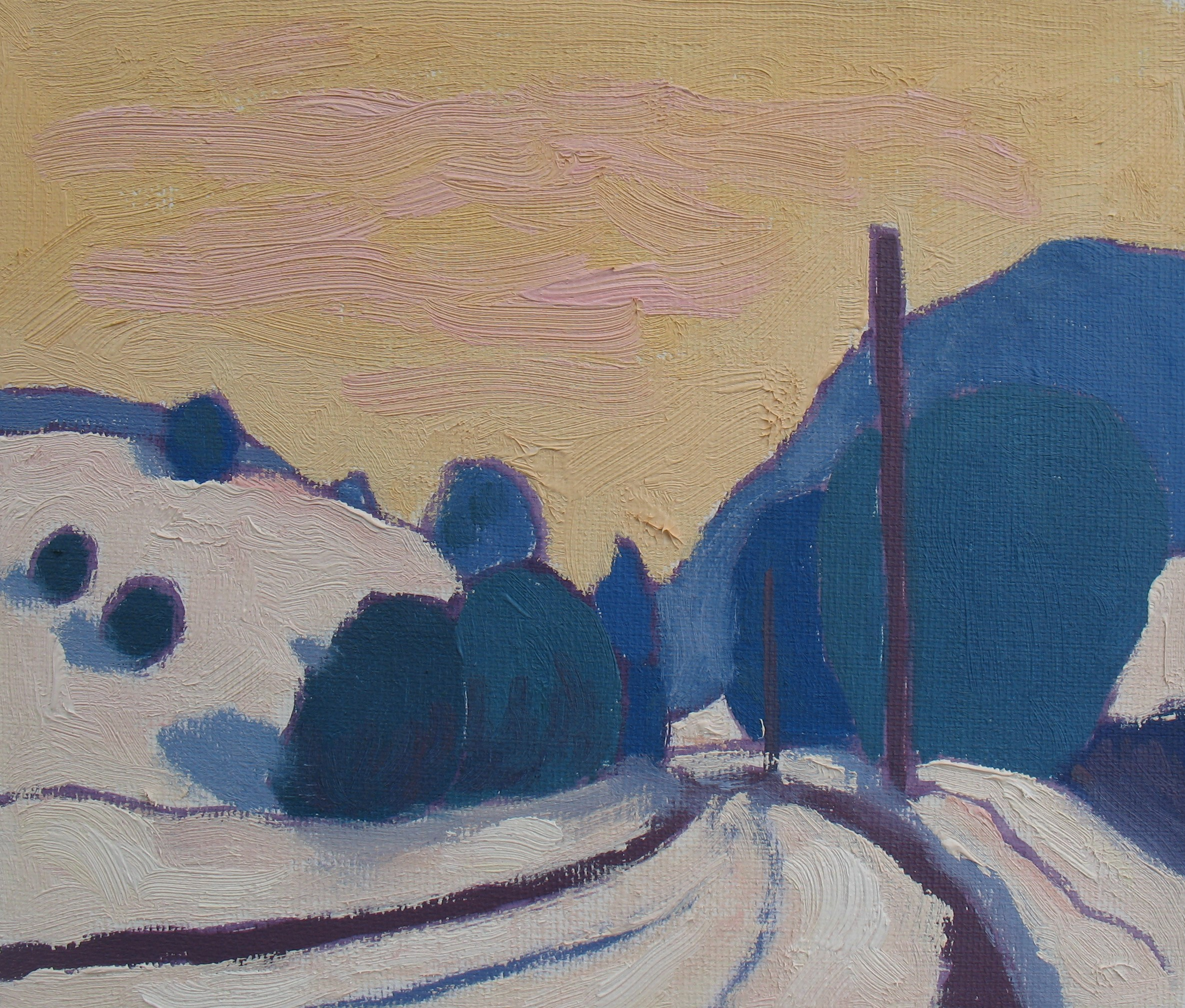 Winter Landscape Section I