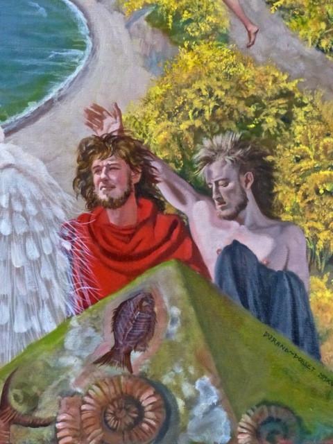 Resurrection at Durdle Door (detail)