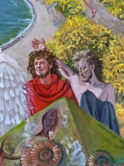 Resurrection at Durdle Door (detail)