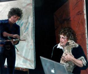 Self-portraits with Rinaldo