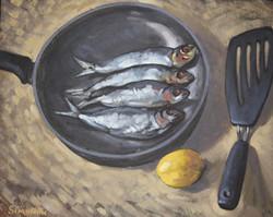 Paul Simonon, Fish in a Pan