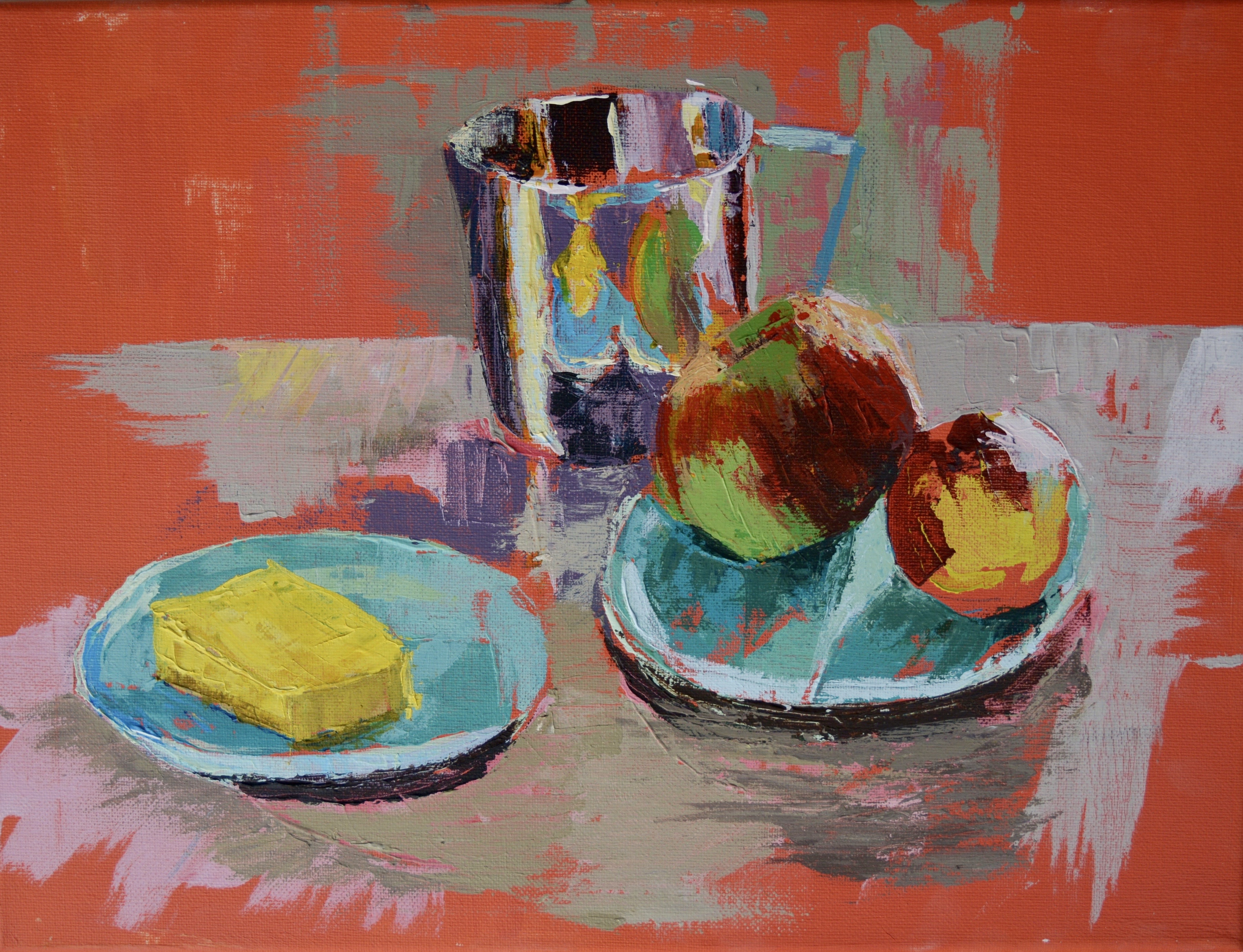 Still Life with Butter