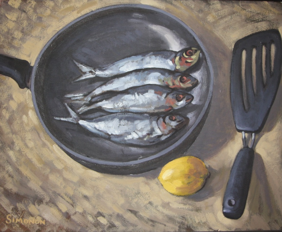 Paul Simonon, Fish in a Pan