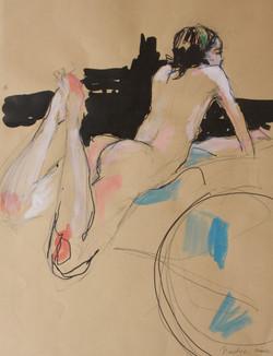 Nadja Solovieva, Nude