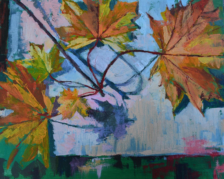 Autumn Leaves, Acrylic on Canvas, 40.5 x 50.5 cm_edited_edited