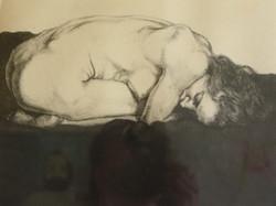 Sigmund Abeles, Crouching Nude