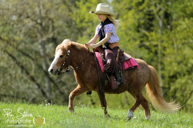Nachwuchs-Cowgirl