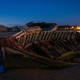 Schiffswrack Bretagne